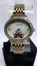 newstuffdaily: ANNE KLEIN Women's Gold Tone Crystal Encrusted Watch 12/2266SVGB
