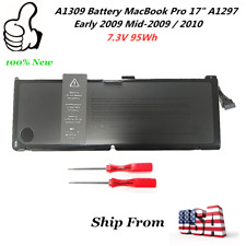 OEM Genuine A1309 Battery MacBook Pro 17 A1297 Early 2009...