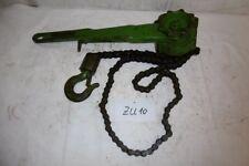 1x Hebelzug Yale 750kg Zurrkette Spannsystem ex Bundeswehr (Zu10)