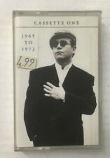 """Elton John """"To Be Continued.. Tape 1: 1965-72"""" Tape Cassette - Never Been Played"""