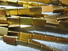 Gold Plated Brass Triangle Spacers 53pcs