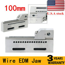 New listing Top Quality Wire Edm High Precision Vise Stainless Steel 100mm Jaw Opening Usa