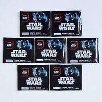 Lot de 7 pochettes Star Wars Cosmic Shell 2015 Leclerc Neufs scellés