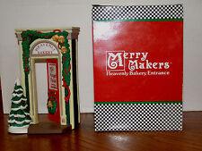 Dept. 56 Merry Makers Heavenly Bakery Entrance  - Retired   SKU# 93718 - NIB