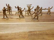 Vintage Marx 1:32 Scale Civil War Lot Of 11 Figures
