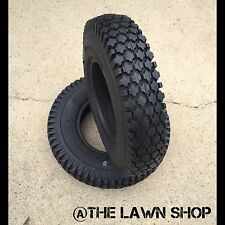 (2)4.10-3.50-4;4 Ply Stud Tires Go-Kart,Snow Blower,Dolly,Air Compressor,Snapper