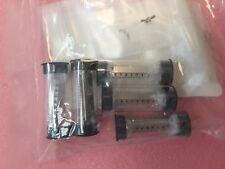 lot x5  sabritec   19917-1118  shell,front recept special #8 coax 2x screw mntd