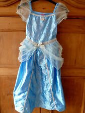 DISNEY SLEEPING BEAUTY AURORA BLUE DRESS UP COSTUME OUTFIT SIZE 7-8 YEARS