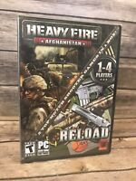 Heavy Fire: Afghanistan + Reload (2 Games) (PC-DVD, 2013) XP-7 - NEW PC Game