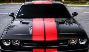 Rally Stripes FOR Challenger Dodge SRT 2009 2008 2010 2011 2012 2013 2014 2015