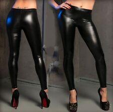 black High quality paint layer cloth Sexy women's Fashion stretch Leggings T02