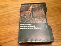 The Allman Brothers Band Cassette Brothers and Sisters Tape Vintage Slipcase