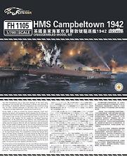 Flyhawk 1/700 1105 HMS Destroyer Campbeltown 1942