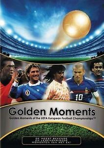 Golden Moments of UEFA European Football Championship  sealed dvd