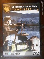 DVD EL COMIENZO DE UN SIGLO - VOLUMEN 1 - 1890-1913 - COMO NUEVA (5W)