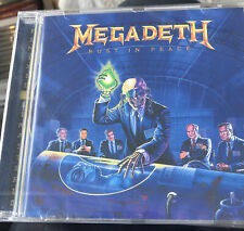 MEGADETH - RUST IN PEACE New Sealed Cd Remastered Extra Tracks Free Post U.K.