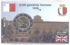 2 Euro Coincard / Infokarte Malta 2011 Wahl