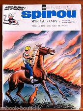 a)SPIROU N°1656  avec le mini récit, sans le poster/ Spécial Sandy