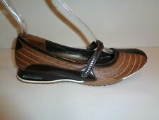 Cole Haan Size 9 D28847 Brown Leather Double Strap Mary Janes New Womens Shoes