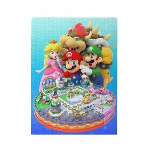 Super Mario Bros 300-1000Pcs Wooden Jigsaw Puzzle Educational Game Kids DIY Gift