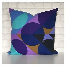 Vintage 60s Peter Perritt Blitz Fabric Cushion Cover