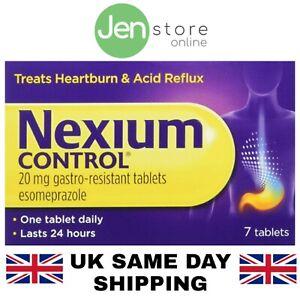 Nexium Control 20mg Tablets - Treats Heartburn and Acid Reflux (Pack-7,14,28,42)
