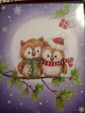 LEANIN TREE CHRISTMAS CARD SET CHRISTMAS OWLS 12PK BUY IT NOW IN EBAY STORE