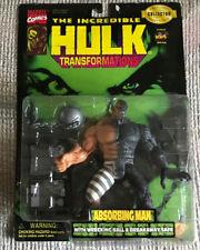 HULK TRANSFORMATIONS THE ABSORBING MAN CARL CREEL TOYBIZ 1997 MOC