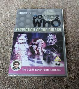 DOCTOR WHO Revelation Of The Daleks Colin Baker Region 2 UK DVD NEW AND SEALED