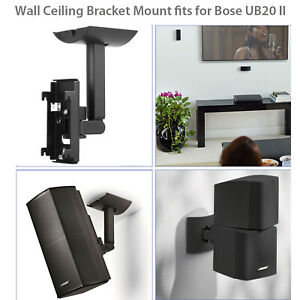 Wall Ceiling Bracket Clamping Mount for Bose UB20 Series 2 II Speaker Surround
