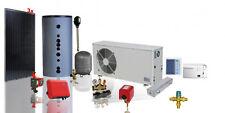 Wärmepumpe Luft / Wasser 7,0 kW mit PV Photovoltaik Komplettanlage 2,04 kW