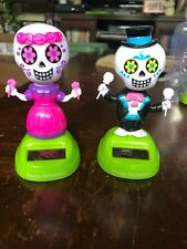 New 2020 Solar Powered Dancing Toy Halloween DAY OF THE DEAD  - Boy & Girl