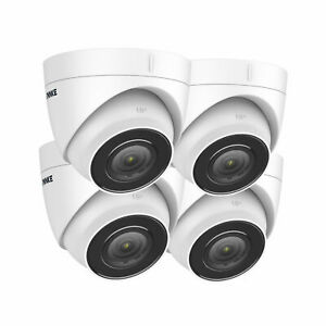 ANNKE 4pcs 4K 8MP CCTV Audio Outdoor POE Security IP Camera IP67 for Security UK