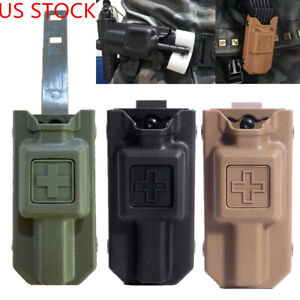US Outdoor Molle Tourniquet Case Box Holder Carrier Pouch Storage Bag