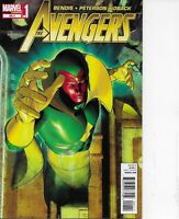 The Avengers #24.1 Marvel Comics 2012 Brian Michael Bendis