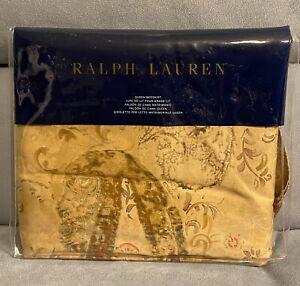 "RALPH LAUREN Verdonnet Paisley Bedskirt 60 X 80""X 18"" Retail $185 NEW In Package"