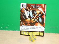DICE MASTERS MARVEL Avengers vs X-Men Français / Deutsche - 062 Wolverine