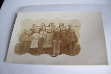 Rare Antique Vintage RPPC Real Photo Postcard Teachers Students Children School