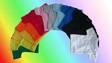 Mini T-Shirt Minishirt 100% Baumwolle od. Polyester Flaschenshirt Puppe Teddybär