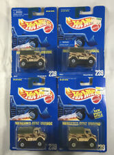 Hot Wheels Blue Card Mercedes-Benz Unimog #239 1991 Lot of 4 New Old Stock