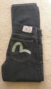 Evisu & Puma Men's Vintage Dark blue Jeans Size 34 X32