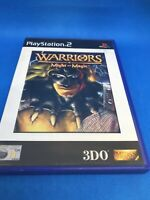 Warriors of Might and Magic - Sony PlayStation 2 - Complete - Manual PAL - PS2