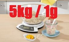 Digitale Küchenwaage 5kg x 1g von Silver Crest   #12895 Digitalwaage Waage