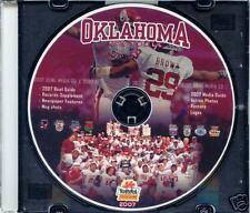 2008 Oklahoma Sooners Fiesta Bowl CD Rom Guide RARE