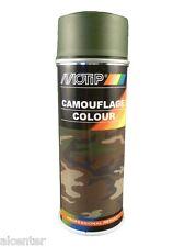 Camouflage Colour bronzegrün matt Spray für Holz, Metall, Glas, Stein, Aluminium