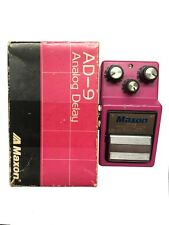 Maxon AD-9, Analog Delay, Made in Japan, 1983, Original Boxing, Vintage Effect