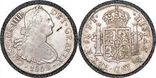 MEXICO 1802 Mo FT 8 Reales - Carlos IV KM# 109 -TKT