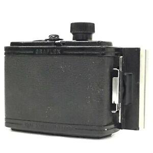 "Graflex ""23"" Graphic 120 Roll Film Holder 6x9 from Japan - Working [TK]"