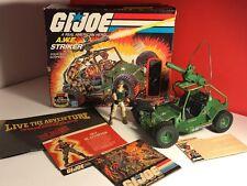 VINTAGE 1985 HASBRO GI JOE VEHICLE AWE STRIKER DUNE BUGGY JEEP COMPLETE BOX NIB