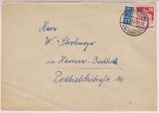 Bizone / Bauten, Mi. 85wg, EF, Markoldendorf/Kr. Einbeck (nachverw) 2.3.49